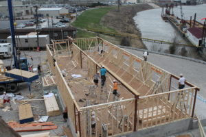 Construction of Evansville Office 2013